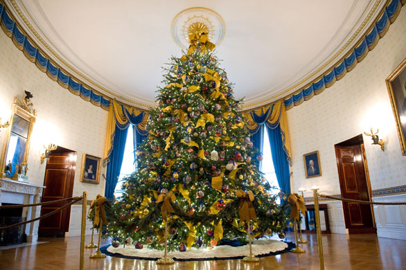 Volunteers Decorate White House For Christmas Us News