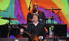 Paul McCartney live in Hamburg