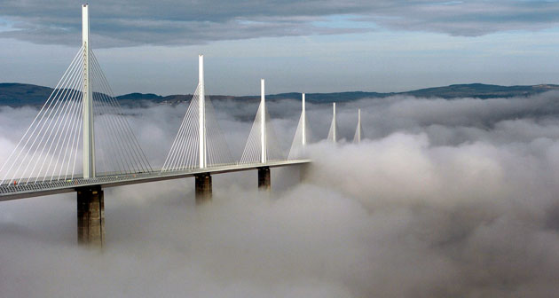Best noughties buildings: Le Viaduc de Millau, Aveyron