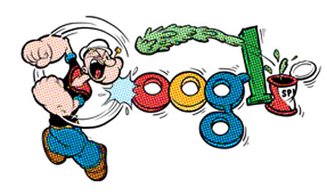 E.C. Segar, Popeye's creator, celebrated with a Google ...