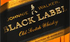 A bottle of Johnnie Walker