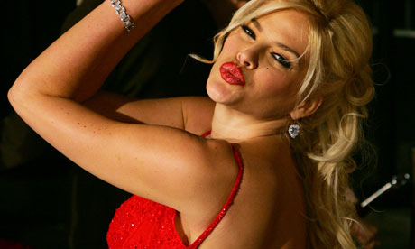 No more lurid than Berg's Lulu: Anna Nicole Smith.