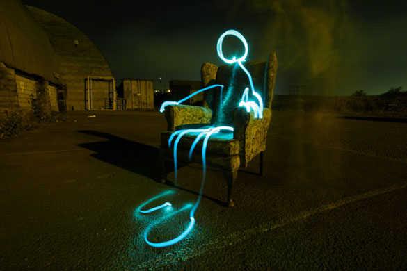 2 Way Light Switch >> In pictures: Michael Bosanko's light graffiti | Art and design | The Guardian