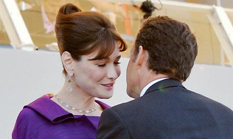 nicolas sarkozy carla bruni wedding. When Nicolas Sarkozy met Carla