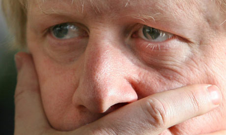 Boris Johnson on February 13 2009. Photograph: Johnny Green/PA