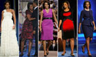 Michelle Obama's designer dresses
