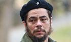 Benicio Del Toro On Set Of New Film