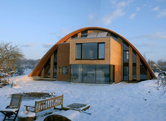 Zero Carbon Home Unveiled In Kent Environment The Guardian