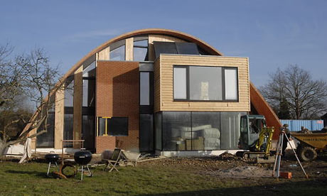House Designs on This House  In Crossway  Kent  Is One Of The First Zero Carbon Homes