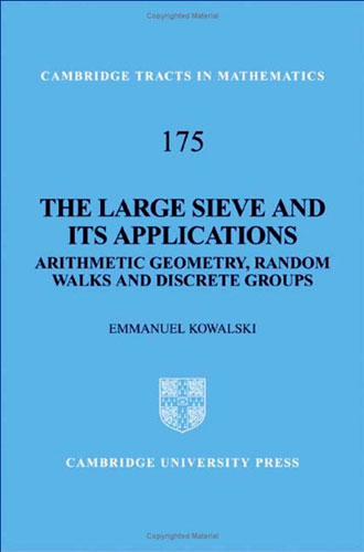 Oddest book title 2009: Book cover: The Large Sieve and its Applications by