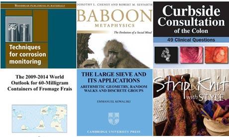 Oddest book titles
