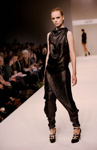In pictures: Ethical fashion at London Fashion Week |				Life and style |				guardian.co.uk
