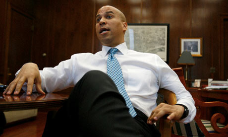 Cory Booker, the mayor of Newark