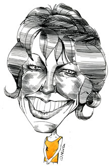 Kathy Lette by Nicola Jennings