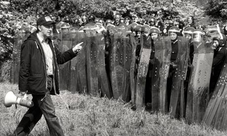 arthur scargill police battle of orgreave miners strike