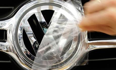 Volkswagen factory in Wolfsburg