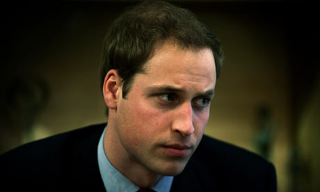 prince william of wales 2009. Prince William listens