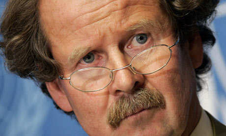Manfred Nowak, the United Nations special rapporteur on torture