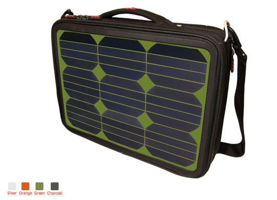Solar clothing: First solar bag powerful enough to charge a laptop