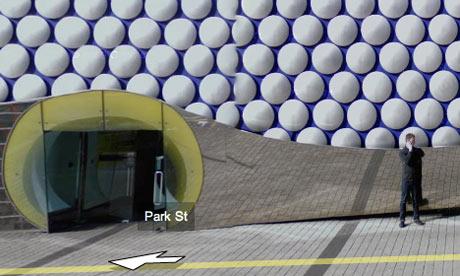 Google street views , Birmingham