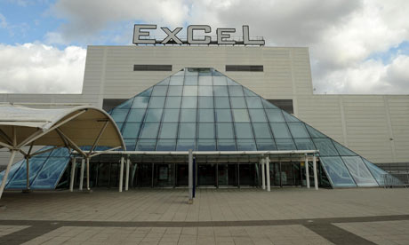 The Excel Centre in London's docklands