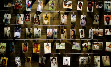 Pictures of Rwandans killed in 1994 genocide