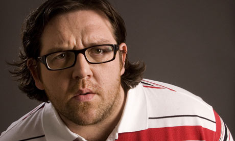 Comic actor Nick Frost
