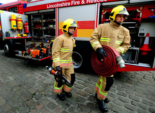 Firefighters Uniforms Through The Ages Uk News The