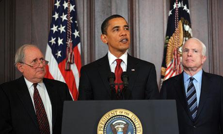 Obama: US President Barack Obama