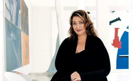Architectural Design on Question Time  Architect Zaha Hadid   Art And Design   The Guardian