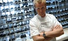 Chef Gordon Ramsay at his Trianon restaurant