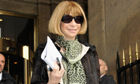 Anna Wintour at Balenciaga