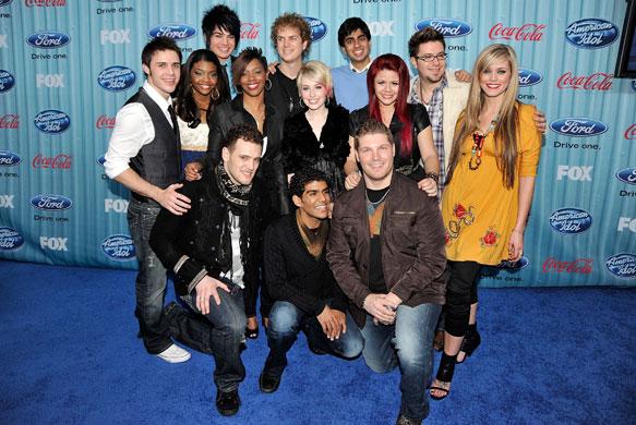 american idol. American Idol finalists: