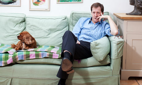 Alastair Campbell, broadcaster and author, at home in London