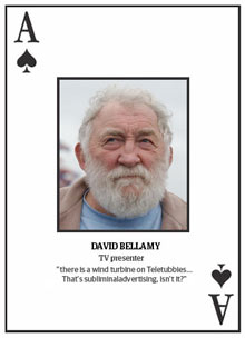 Top 10 climate change deniers: David Bellamy