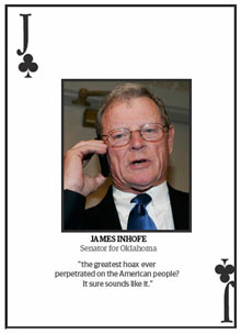 Top 10 climate change deniers: James Inhofe