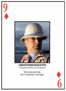 Top 10 climate change deniers: Christopher Monckton
