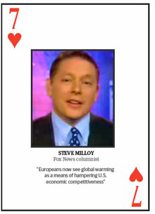 Top 10 climate change deniers: Steve Milloy