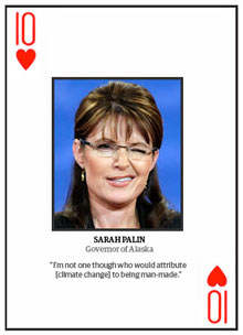 Top 10 climate change deniers: Sarah Palin
