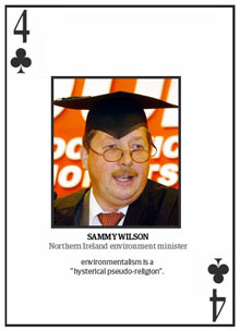 Top 10 climate change deniers: Sammy Wilson