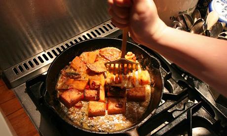 Mash your sweet potatoes