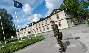 A Nato base in Tallinn, Estonia, established to combat cybercrime