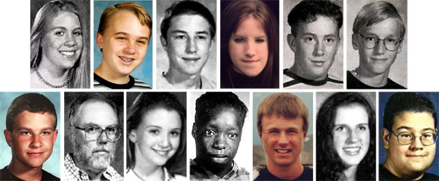 ... shootings: The 13 victims from the school shooting at Columbine High