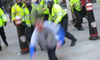 Guardian.co.uk footage of Ian Tomlinson being violently knocked to the ground