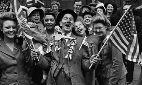 Londoners Celebrating on VE Day