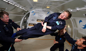 Stephen-Hawking-on-a-zero-002 - Stephen Hawking: Colonize Space or End the Human Race - Science and Research