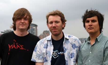 The Gigulate team: John Martin, Duncan Amey and Ben Perreau