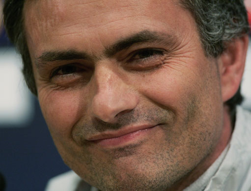 2004 05 jose mourinho starts the war of words with frank rijkaard with