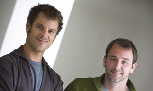 Matt Stone and Trey Parker South Park creators