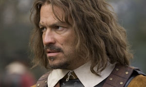 Dominic West as Oliver Cromwell in The Devil's Whore, Channel 4